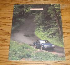 Original 1995 Oldsmobile Ciera Deluxe Sales Brochure 95