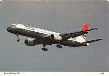 B71596 Brithist Boeing 757 avion airplane Great Britan