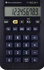 2x Texas Instruments TI-EC 3+ Mini-Schul Taschenrechner
