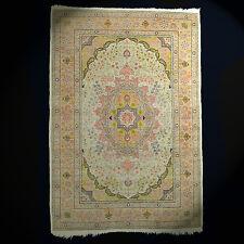 Türkischer Hereke Seidenteppich Teppich 100% Seide 159x109 cm rug tapis tappeto