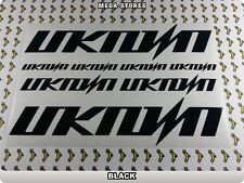 UNKNOWN Stickers Decals  Bicycles Bikes Cycles Frames Forks Mountain BMX MTB 54C