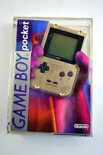 Game Boy Pocket Gold Original Handheld System New in Box!