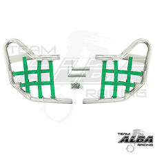 LTZ 400 LTZ400 Suzuki  Nerf Bars   Alba Racing  Silver bar Green nets  206 T1 SG
