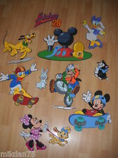 10 DISNEY MICKEY MOUSE CLUBHOUSE FIGURES FOAM WALL 3D DECORATION STICKERS