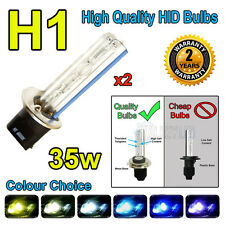 H1 HID 35w Replacment Bulbs AC Xenon Metal Base Headlight 4300k 6000k 8000k 10k