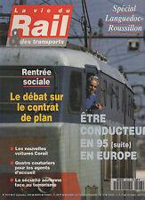 la vie du rail N°2513 special languedoc roussillon    1995