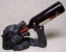 Wine Bottle Holder and/or Decorative Sculpture Werewolf Wolfsbane NIB