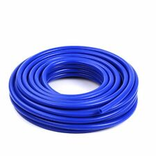 "High Performance 20 Feet  ID:3mm (1/8"")  Silicone Vacuum Hose Tube Blue"