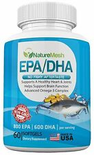 High Quality No Aftertaste EPA/DHA Omega 3 Complex / Fish Oil – 800 EPA 600 DHA