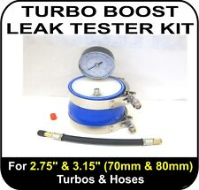 "TURBO BOOST LEAK TESTER Fits 2.75"" & 3.15"" (70 & 80mm) Turbos Pipes Hose EGR NOS"