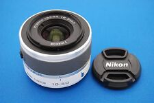 Nikon 1 NIKKOR 10-30mm f/3.5-5.6 AS VR SIC IF Lens For Nikon 1 Camera (White)