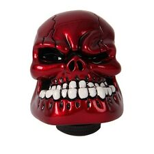 Universal Manual Resin Skull Head AUTO Gear Shift Knob Lever FIT Mazida Nissan#