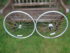 NEW PAIR 700C ALEXRIMS DH19 BIKE FRONT & REAR WHEELS SHIMANO NEXUS 7 SPEED HUB