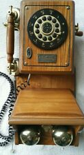 Thomas Collectors Edition country 1927 wall mount telephone replica