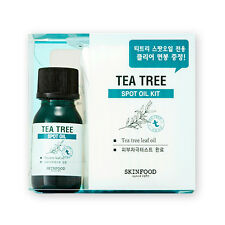 [SKINFOOD] Tea Tree Spot Oil Kit - 1pack (Oil 10ml + Cotton Swab 50pcs)