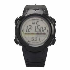 Fashion Waterproof Men's Boy LCD Digital Stopwatch Date Rubber Sport Wrist Watch