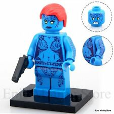Custom Mystique Minifigure X-Men Apocalypse fits with Lego pg 029 UK Sellar