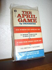 The April Game  by Diogenes (Playboy #16218, 1974,Paperback)