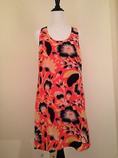 J.Crew Twist-back Silk Dress Hibiscus Floral $138. Size 6