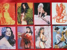 "Olivia Pinups Art Collector Cards Complete Basic Set of 72 ""Olivia's New Models"""