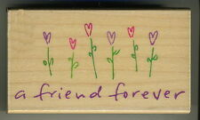 Hero Arts - Rubber Stamp - Friends Forever Flowers - F3263