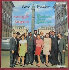 SWINGLE SINGERS WITH MODERN JAZZ QUARTET  LP ORIG 60'S  FR  PLACE VENDOME