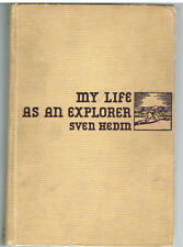 My Life as an Explorer by Sven Hedin 1925 Rare Vintage Book! $