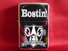 Bostin Black Country Engraved / Impact Printed Fuel STAR Lighter With Gift Box