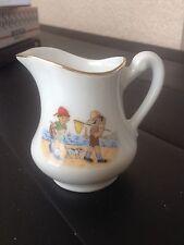 Ancien pot à lait ou crème décor enfant style germaine bouret