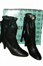BNIB: BERTIE ANKLE BOOTS 100% Soft Leather Black Size 7