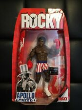 Jakks Pacific - Rocky Apollo Creed Figure Extremely Rare New MOC