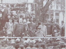 RARE PHOTO CIVIL & SPANISH AMERICAN WAR HERO GENERAL SHAFTER VISIT GALESBURG IL