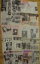 Chad Allen, Lot of TEN Two Page Vintage Clippings