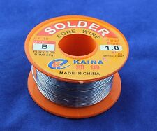 1mm Rosin Core Solder 63/37 Tin Lead Line Flux Soldering Welding Iron Wire Reel