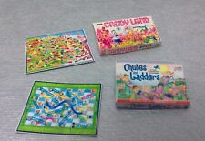 Dollhouse 1:12 mini 2 Kids Game Box & Boards, Candy Land, Chutes & Ladders