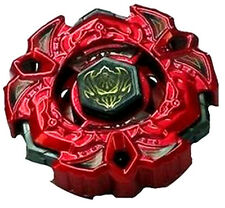 Beyblade Metal Fury WBBA Limited Edition BB114 Red Vari Ares D:D Variares Rare