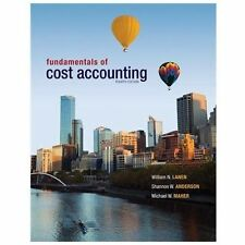 Fundamentals of Cost Accounting with Connect Plus by Michael Maher, William...