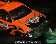 Harley Davidson '97 Ford F-150 Truck Christmas Ornament Chrome Flames RARE F150