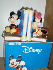 "sculpture Mickey &  Minie Mouse  "" Boekensteunen """