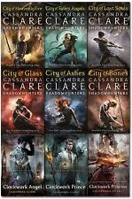 Cassandra Clare Mortal Instruments & Infernal Devices Collection 9 Books Set NEW