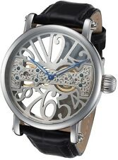 Rougois Skeleton Watch with Bridge Mechanical Movement