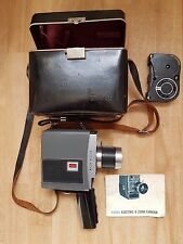 KODAK ELECTRIC 8 STANDARD 8 CINE FILM CAMERA 8mm MOVIE VINTAGE LENS ZOOM