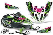 Arctic Cat Sno Pro 120 Sled Wrap Snowmobile Decal Graphics Kit 09-13 FRENZY GRN