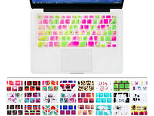 New Watercolor painting Silicone Keyboard Cover Skin F Macbook Pro Air 13 15 17
