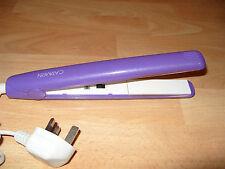 Glitter Purple Carmen C81001 Womens Hair Straightener Styling Beauty Fast Heat