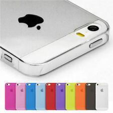 iPhone 4 4S Cover dünn Hülle Schale Bumper Slim Case klar matt transparent Etui