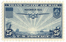 US Scott  #C20 China Clipper 25¢ Blue MNH***FREE SHIP***