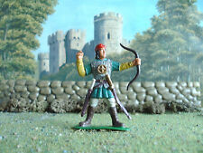 Supreme Medieval Russian bowman 60mm painted