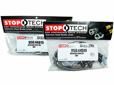 Stoptech Stainless Steel Braided Brake Lines (Front & Rear Set / 44015+44511)