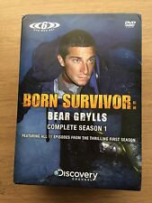 Bear Grylls Born Survivor Series / Season 1 -  Region 2 DVD 6 Disc Boxset